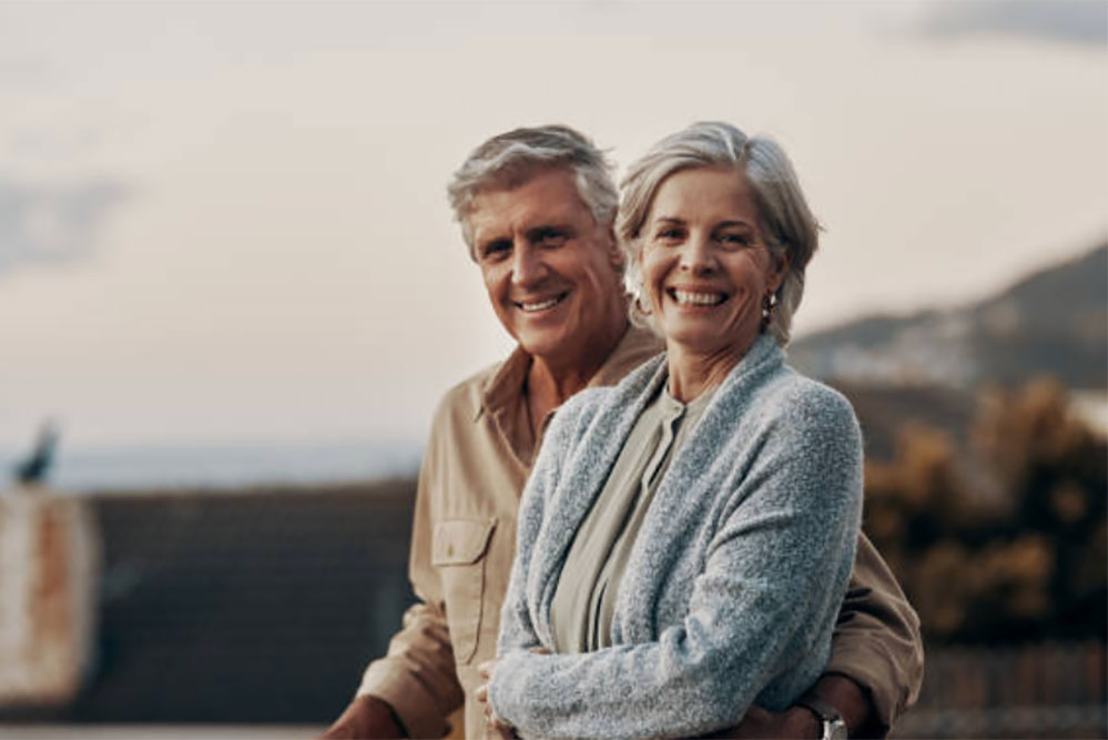 Photo of a couple - the Growth shot helps men with erectile dysfunction